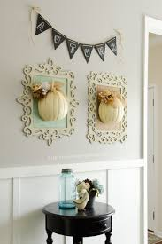 Diy Fall Decorations Craftaholics Anonymousar Framed Fall Pumpkins