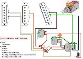 some series parallel and out of phase switching tricks what you get this setup is that on your five way pup selector the push pull pulled