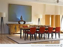 tribeca loft asian dining room furniture