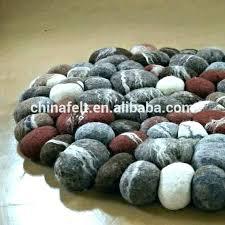 wool stone rug stone rug wool supplieranufacturers at rock felted wool stone rug diy