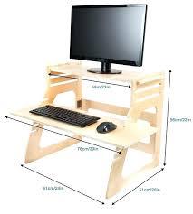 diy stand up desk desktop mic
