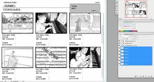 Creating A Storyboard To Film Using Akvis Sketch