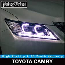 2014 Camry Led Lights Us 550 8 19 Off Car Styling For Toyota Camry Headlights 2012 2014 Camry Led Headlight Drl Lens Double Beam H7 Hid Xenon Bi Xenon Lens In Car Light