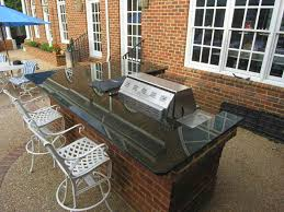 Outdoor Kitchen Countertops 4 Ideas To Build Outdoor Kitchen On A Deck