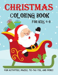 christmas coloring book for kids fun