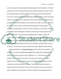 social commentary criticism in pride prejudice essay related essays