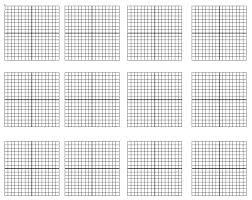 Line Graph Paper Printable Crochet Generator X Black 1 Print Custom