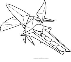 Disegno Di Vikavolt Dei Pokemon Da Colorare Con Disegni Da Colorare