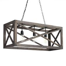 affordable french country chandeliers sense serendipity gray wood 3 light chandelier and iron valencia 2