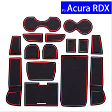 Rsx Cup Holder Light Bulb Us 15 18 15 Pcs Non Slip Car Door Gate Slot Mats Carpets Position Cup Holder Pads For Acura Rdx 2013 2016 Door Groove Mat Free Shipping On