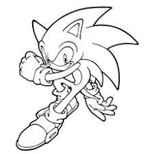 Small Picture 21 Sonic The Hedgehog Coloring Pages Free Printable