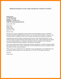 Bunch Ideas Of 9 Medical Assistant Externship Cover Letter For Your