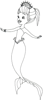 Sofia The First Coloring Pages Oona