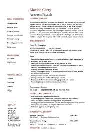 Accounts Payable Resume Summary Accounts Payable Resume Sample Job Description Salary Example