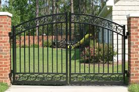 Metal Fence Gate Designs Great Iron Gates Home Depot Metal Fence
