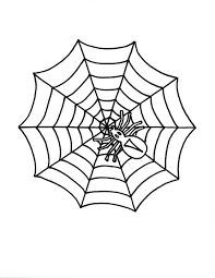 Small Picture Little Spider on Spider Web Coloring Page Color Luna
