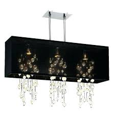chandeliers rectangular shade chandelier crystal with linear amazing dining room rectangula rectangular shade chandelier