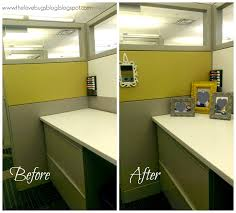 Work Cubicle Makeover