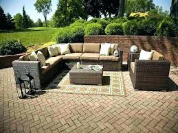 sectional patio furniture outdoor wicker sale d83