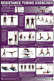 Printable Resistance Band Workout Chart Www