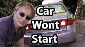 how to fix a car that won t start when you turn the key how