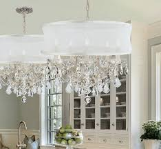 dining room magnificent stunning crystal chandelier with drum shade about interior home in crystals from