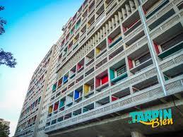 La Cité Radieuse De Le Corbusier Tarpin Bien