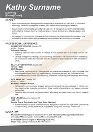 Examples Of Successful Resumes Examples Of Effective Resumes Successful Resumes Examples Best 8