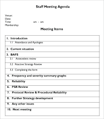 Meeting Minutes Template Free Staff Meeting Minutes Template Free Construction Management