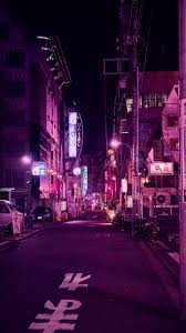 wallpaper 1440x2560 street, neon, night ...