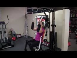 York 2600 Mega Gym And Exercise Chart York Perform Home Gym Demo Australia Youtube