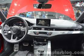 audi a5 2015 interior. 2016 audi a4 avant sline dashboard at the iaa 2015 a5 interior