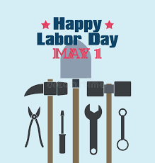 labor day theme labor day theme illustration design flat style stock illustration