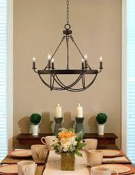 bronze dining room lighting imposing innovative light ideas rustic crystal chandelier