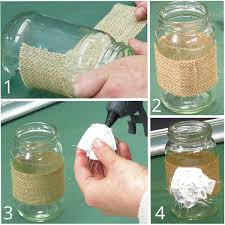 How To Decorate A Jar Beautifully Simple Jam Jar Decorations 19