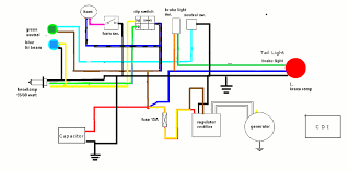 yamaha sr sr forum bull view topic wiring diagram image the colors reflect the stock wiring harness