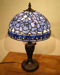 blue stained glass lamp stained stained glass rose rose blue rose roses stained lighting lights light stand table lamp elegance unique fashion fantasy of