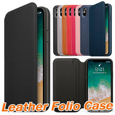 official original leather folio wallet case for apple iphone x with card slot sleep function slim flip cover for iphone 5 5s 6 6s 7 8 plus best cell phone