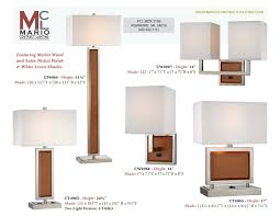 cf4964 floor lamp merlot wood collection