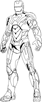 Small Picture Heroes Iron Man Coloring Pages Kid activities Pinterest Iron