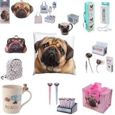 pug gifts pugs pet dog key ring bag purse bookmark mug nails lips tweezers gift