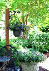 outdoor plant holders standing plant holder standing outdoor plant hanger from confessions of a serial do it free standing standing plant holder outdoor