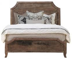 reclaimed wood queen bed. Plain Wood Aria Queen Bed With Reclaimed Wood A