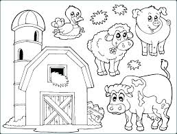 Zoo Animals Coloring Pages For Preschoolers Zoo Animals Coloring