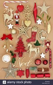Weihnachten Noel Mit Retro Christbaumkugel Christbaumschmuck