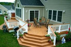 patio deck and patio designs a new using small sets decks patios yards gallery deck and