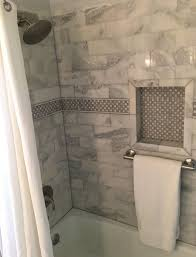 marble tile shower. Marble Tile Shower Niche W