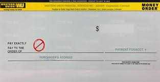 A Out Money Order Union Fill How To Western