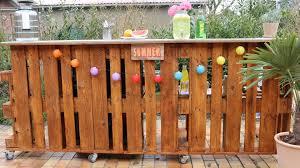 Bar Aus Paletten Garten