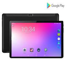2020 Siêu Mỏng Máy Tính Bảng Android 7.0 RAM 2GB Rom 32GB GPS Máy Tính Bảng  4 Nhân MTK Máy Tính Bảng 8MP camera Dual Sim Viên 10.1 Tablets